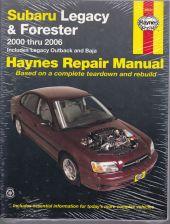 Subaru Legacy and Forester 2000 Thru 2006