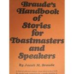 Braude's Handbook of Stories for Toastmasters and Speakers