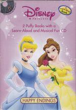 Disney Princess Boxed Set (2 books + 1 CD)