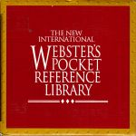 Webster's Pocket Reference Library (box set)