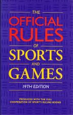 Official Rules of Sports and Games 1995-96