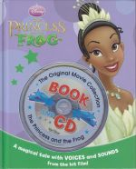 The Princess and the Frog - book and CD