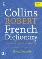 Collins Robert French - English  Dictionary