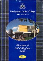 Directory of Old Collegians of Presbyterian Ladies' College Melbourne