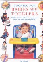 Cooking for Babies and Toddlers