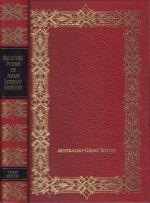 Selected Poems of Adam Lindsay Gordon