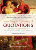 New Penguin Dictionary of Quotations