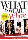What to Wear, Where