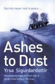 Ashes to Dust Thora Gudmundsdottir Book 3