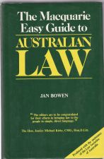 The Macquarie Easy Guide to Australian Law