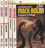 Mack Bolan & Executioner Collection #78, #79, #133, !36