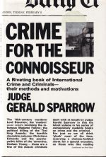 Crime For The Connoisseur