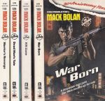 Mack Bolan Collection #118, #123, #125, #127
