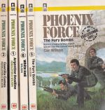 Phoenix Force Collection #1. #2, #5, #6