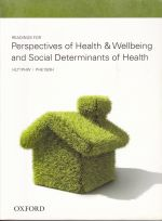 Hlt1Phw and Phe1Sdh - Perspectives of Health and Wellbeing and Social Determinants Of Health