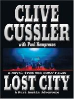LOST CITY : A KURT AUSTEN ADVENTURE