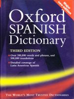 Oxford Spanish Dictionary - Third Edition
