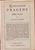 Restoration Tragedy - 1660-1720