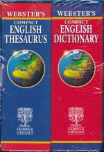 Websters Compact English Dictionary and Thesaurus  (2 volume boxed set)