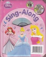 Disney Princess Sing along with CD