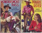 Prairie Rider, Powdersmoke Pass, Gun Law, The Sheriff of Elk Ridge, The Leather Slapper